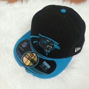 """Carolina Panthers 7 5/8"""" Fitted Hat"""